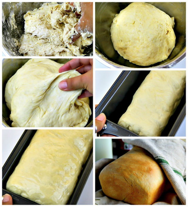 Homemade Butter Bread