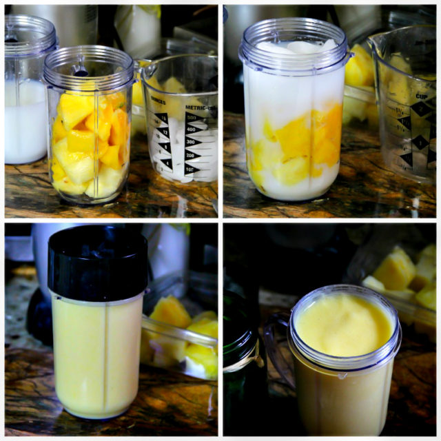 Pineapple and Mango Smoothie