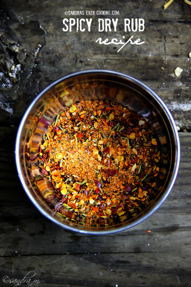 Spicy Dry Rub Seasoning