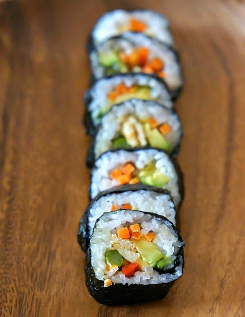 Lunch Box: Korean sushi Roll, Kimbap