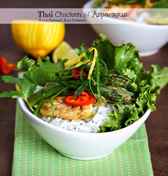Thai Chicken and Asparagus