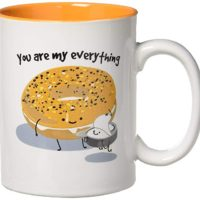 Pavilion - Everything Bagel with Cream Cheese - You Are My Everything - Large 18 oz Coffee Mug