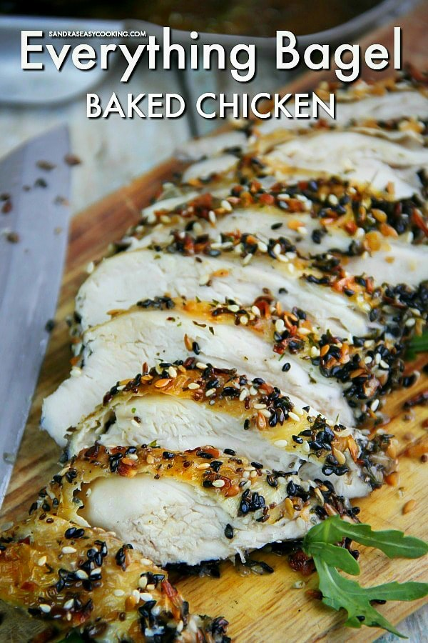 Everything Bagel Baked Chicken
