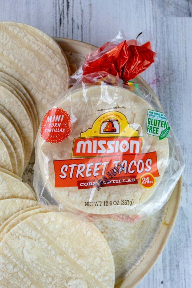 Mission® Street Tacos Corn Tortillas