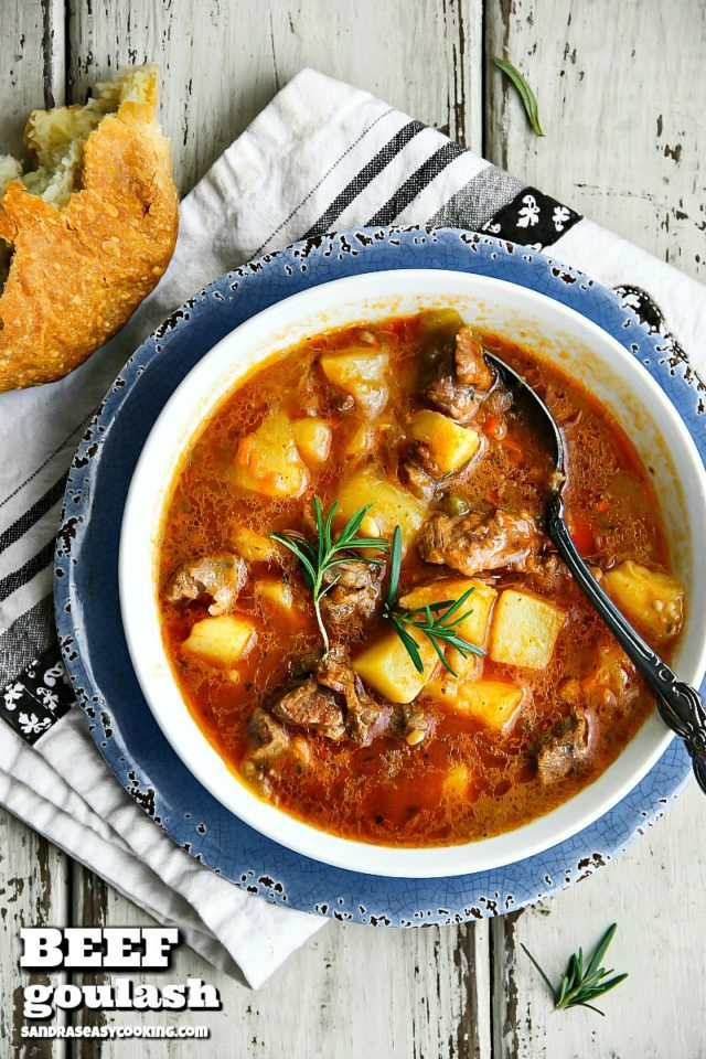 Beef Goulash Stew