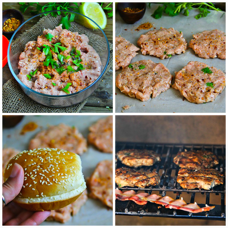 Chicken Burger Step by step