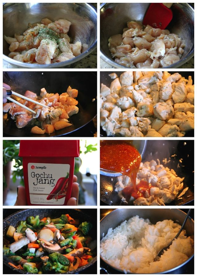 Stir Fry Step by step