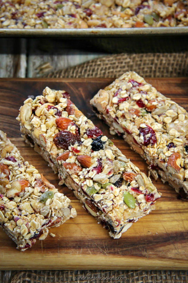 Easy Energy Bars Recipe