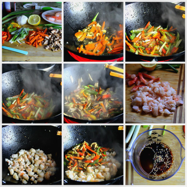 stir fry step by step instructions