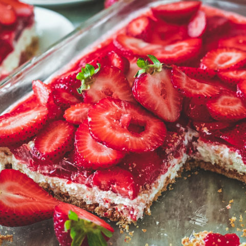 Strawberry Jello Summer Salad