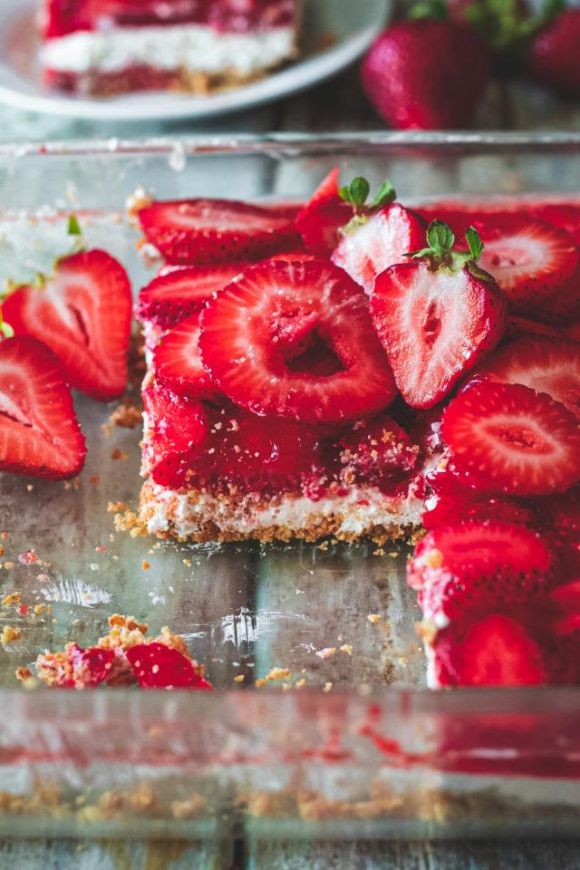 Strawberry Jello Summer Salad Recipe