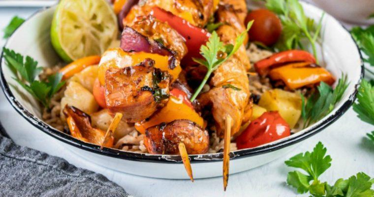 Chicken Fajita Skewers
