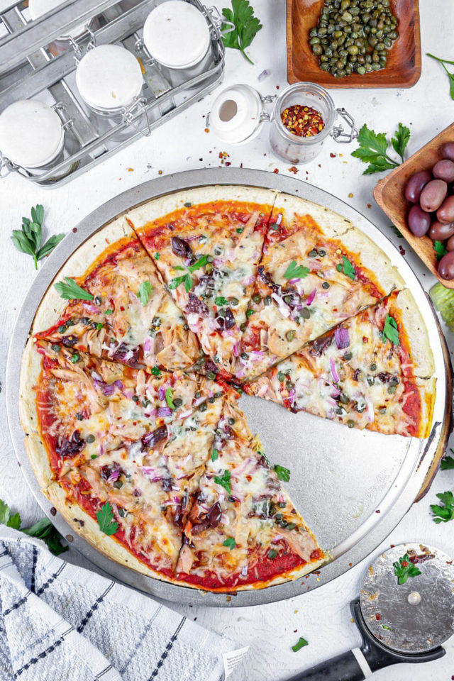 Easy Tuna Pizza Recipe