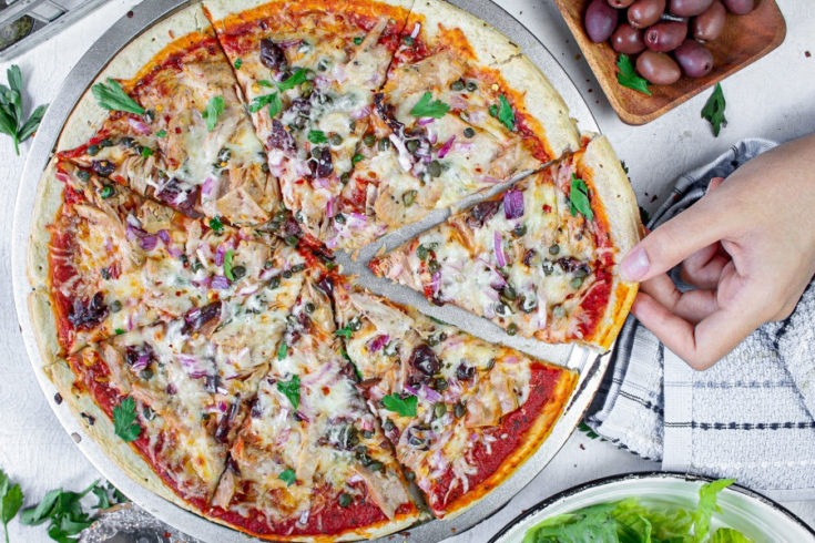 Easy Tuna Pizza