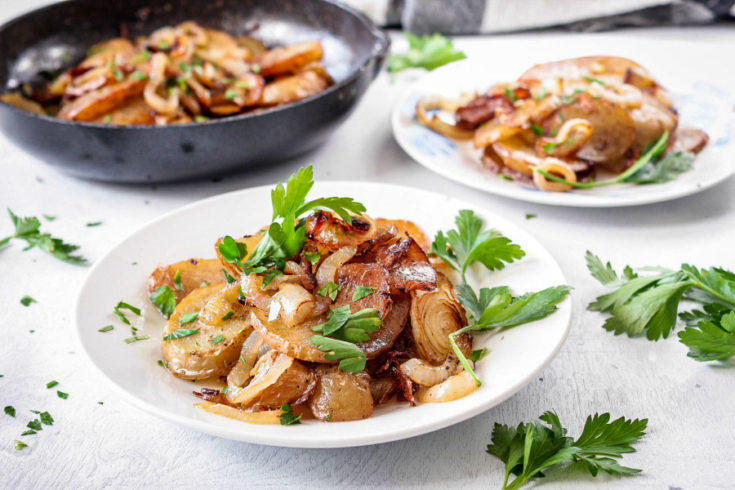 Easy Lyonnaise Potatoes