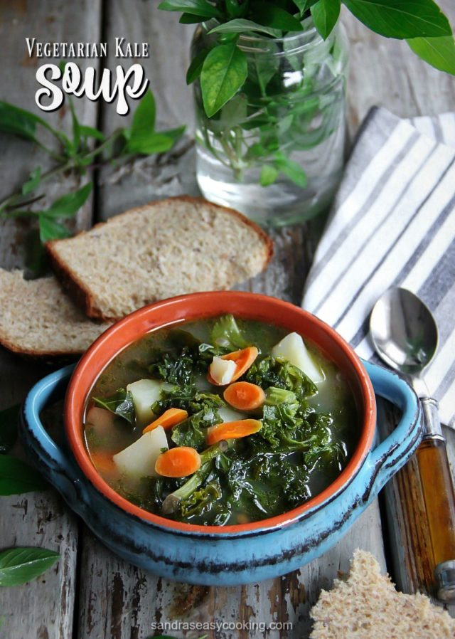 Vegetarian Kale Soup Recipe