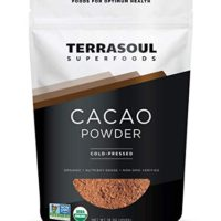 Terrasoul Superfoods Raw Organic Cacao Powder, 1 Lb - Raw | Keto | Vegan