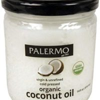 Palermo Organic Refined Coconut Oil, 14 Fluid Ounce