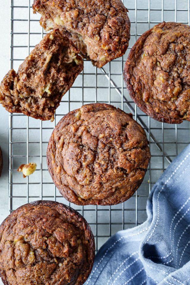 Gluten-Free Banana Cocoa Muffins