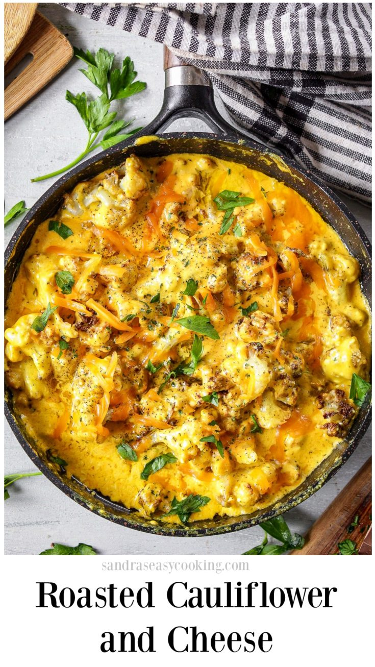 Roasted Cauliflower and Cheese Recipe