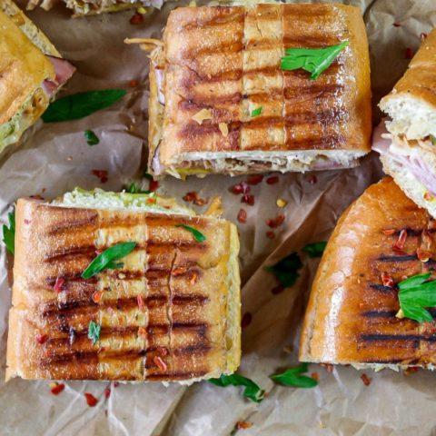 Tasty Pressed Cuban Sandwich