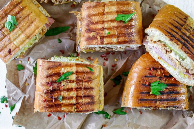 Tasty Pressed Cuban Sandwich