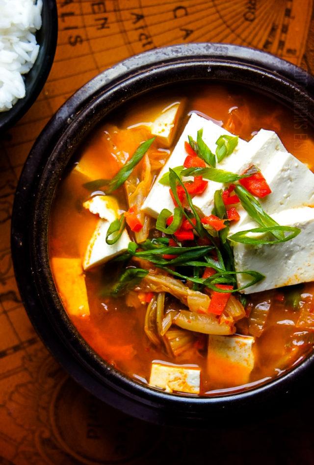 Kimchi Jjigae Recipe