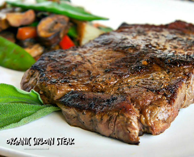 Organic Sirloin Steak Salad
