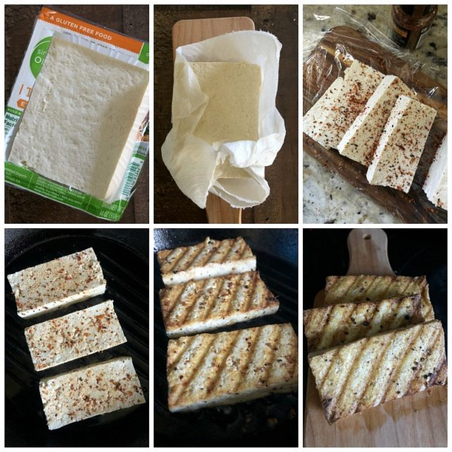 Step by step tofu