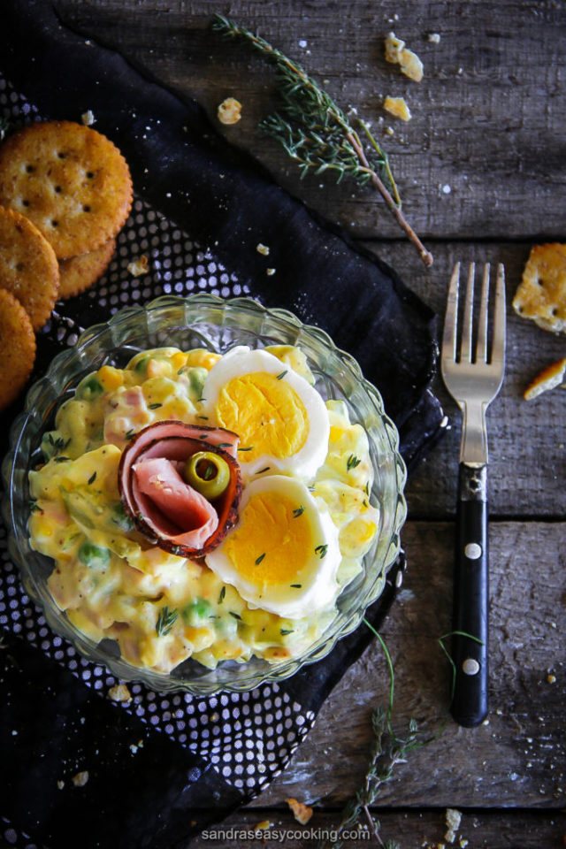 Tasty Russian Olivier Salad