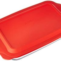 Pyrex 4 Qt. Oblong Baking Dish with Cover (4.8 Quart Outside Measurement)
