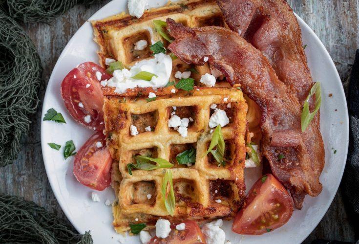 Chaffles - Low Carb Keto Waffles