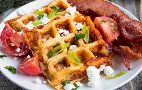 Chaffles - Low Carb Keto Waffles Recipe