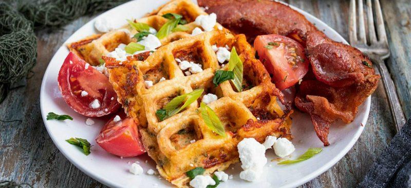 Chaffles – Low Carb Keto Waffles