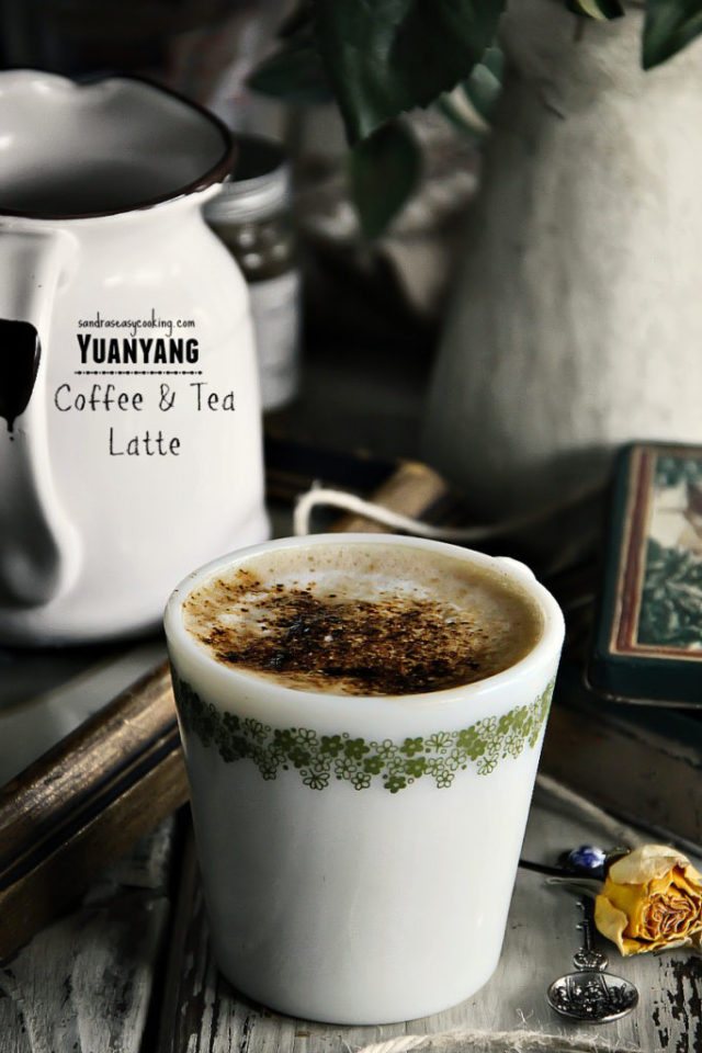 Yuanyang Coffee and Tea Latte