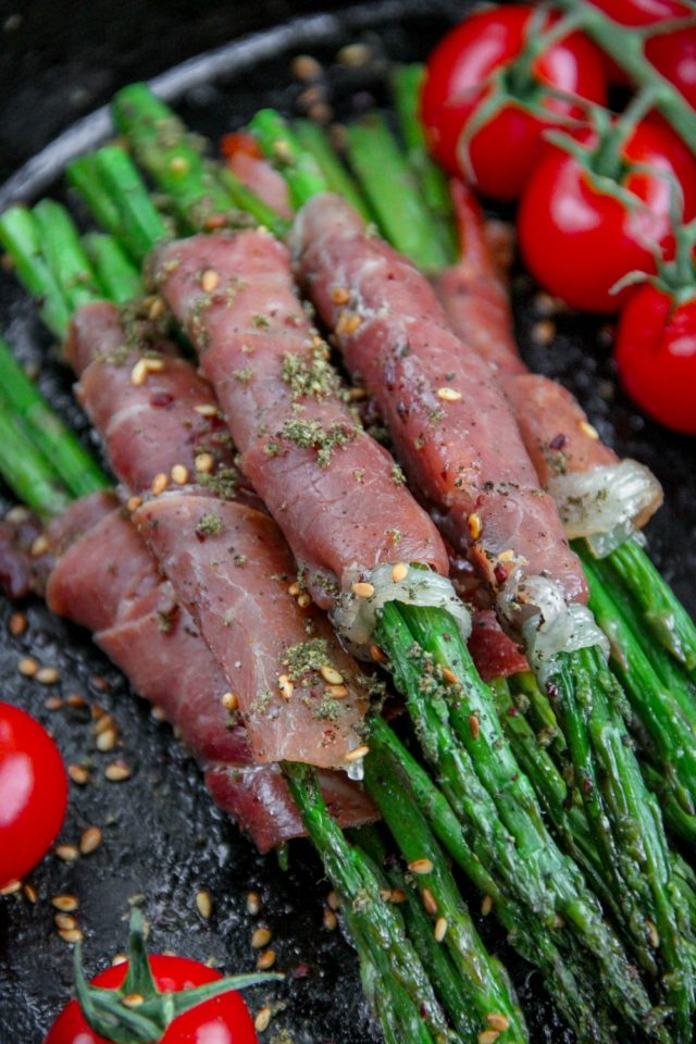 Asparagus Wrapped with Prosciutto