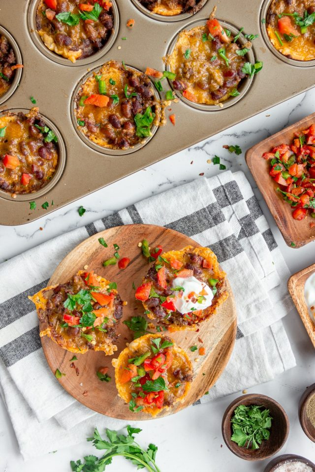 Tasty recipe for Beef Chili Cups