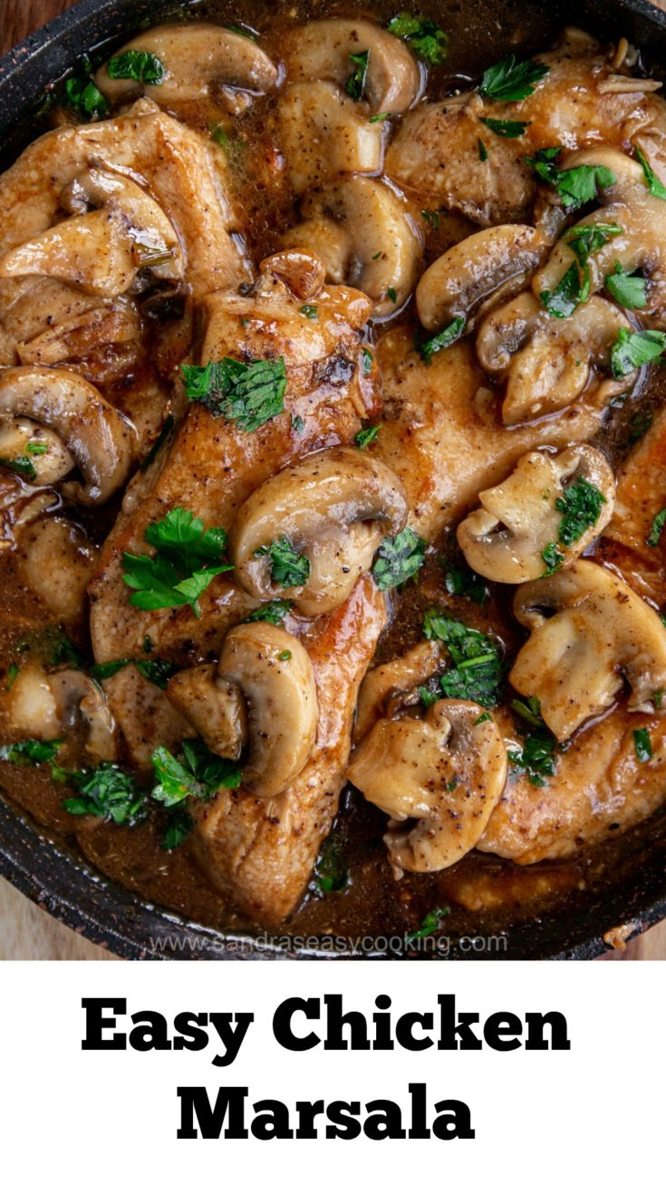 Easy Chicken Marsala Recipe