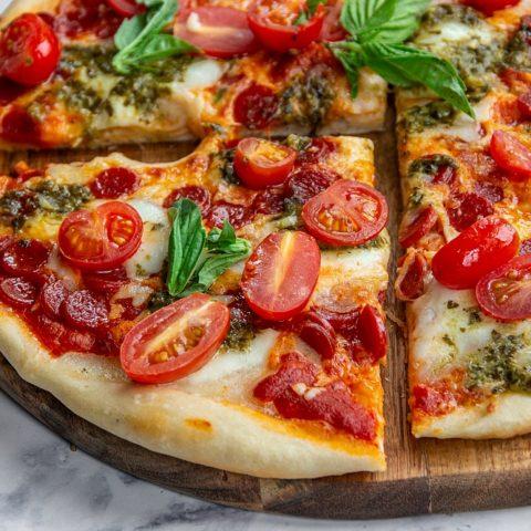 Recipe for pizza