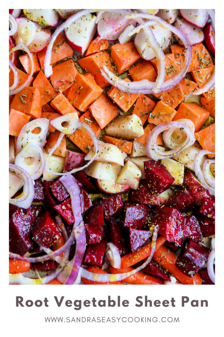 Recipe for easy and tasty Root Vegetable Sheet Pan