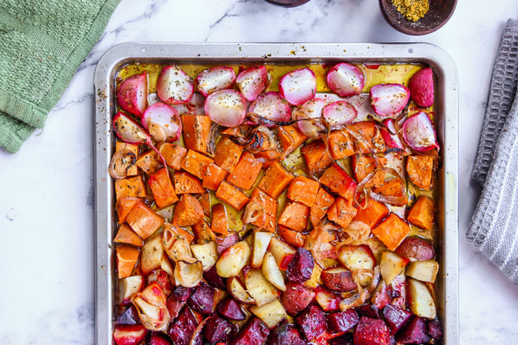 Root Vegetable Sheet Pan