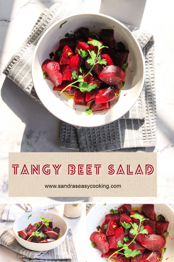 Recipe for a tasty Tangy Beet Salad