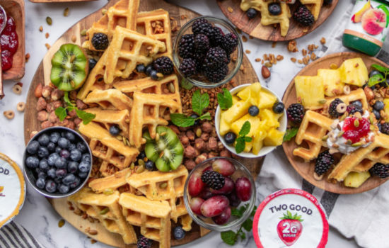 Ultimate Waffle Breakfast Board Perfect for Party