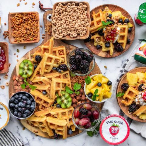 Waffle Breakfast Board