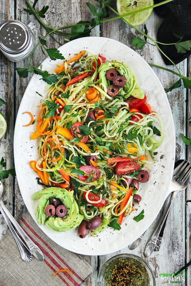 Zesty Zoodle Salad