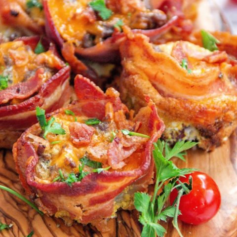 Meat Lovers Egg Muffins