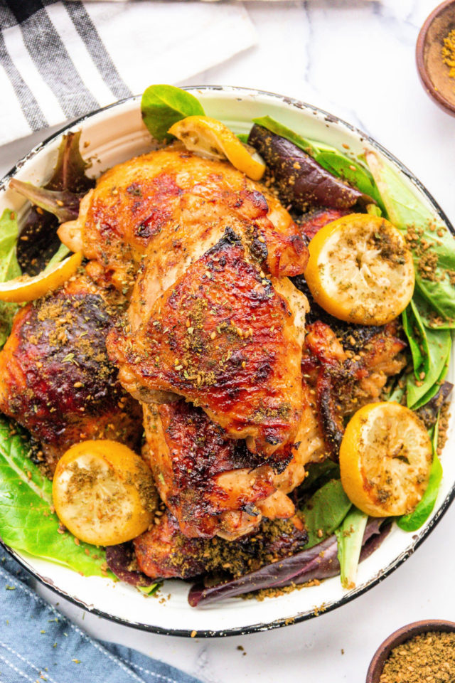 Air-Fryer Honey Mustard Chicken Thighs