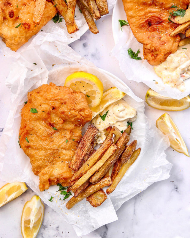 Classic Beer Battered Fried Fish