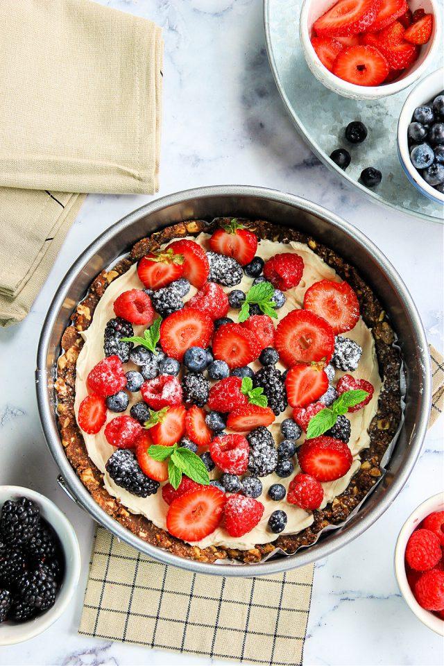 No Bake Sweet Fruit Pizza Recipe