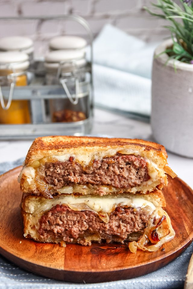 Classic Patty Melt Sandwich
